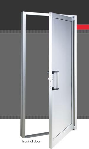 Puertas de aluminio portones puertas de madera for Puertas vaiven precios