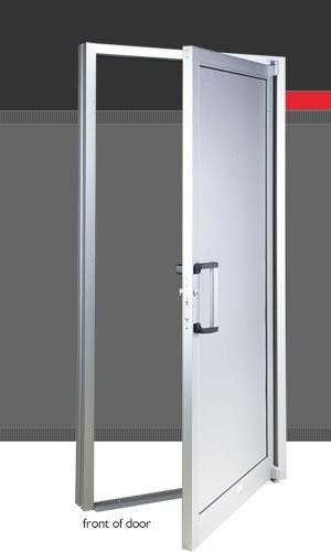Puertas de aluminio portones puertas de madera - Puerta balconera aluminio ...