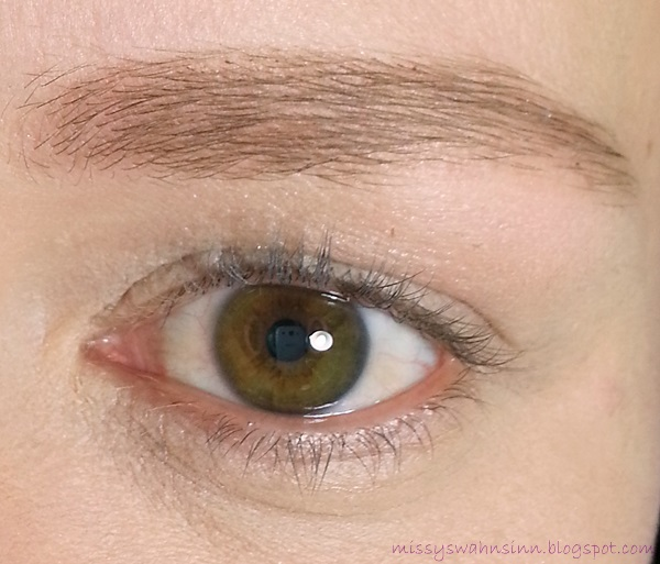 Auge ungeschminkt