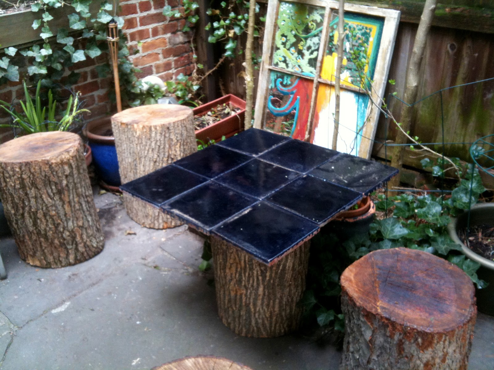 Bexcetera for Upcycled tree stumps