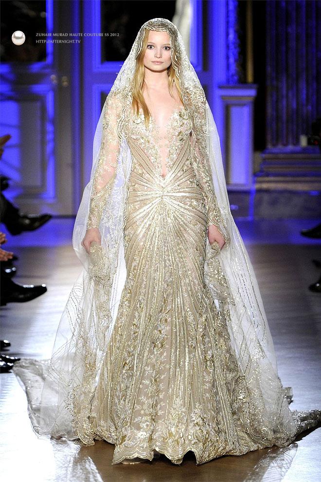 Glamour by fatima mesmerising zuhair murad haute couture for Haute wedding