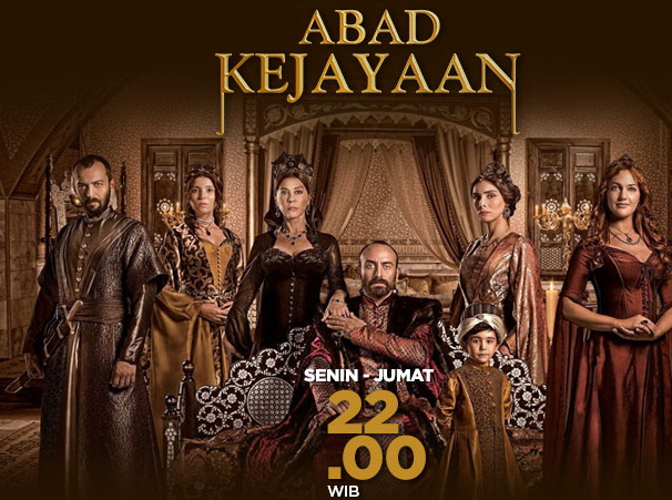 Gambar Sampul Serial Film Abad Kejayaan ANTV