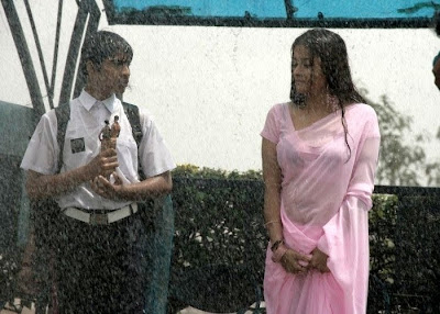 Kiran Hot Wet Scene in High School Movie Stills