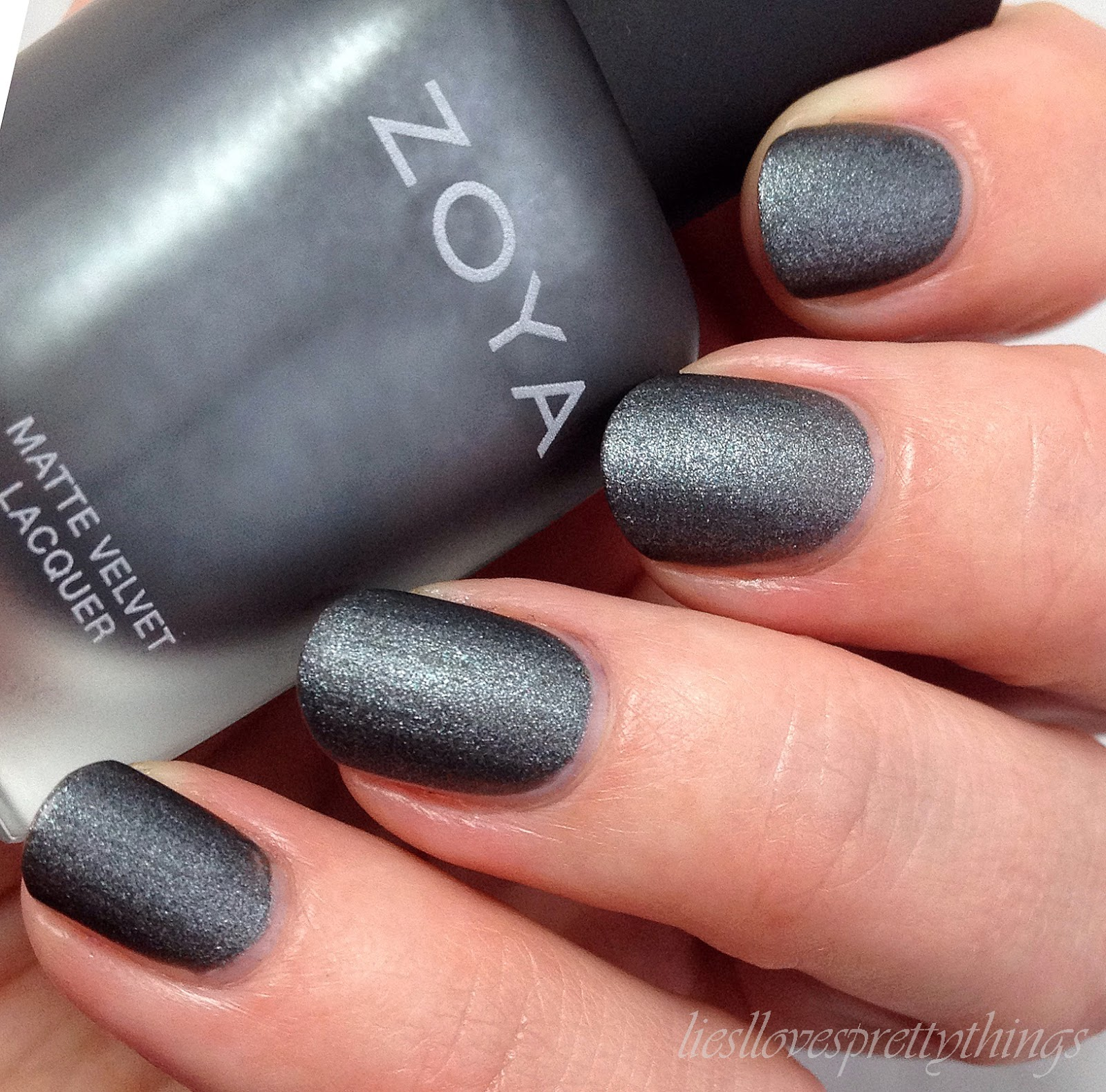 Zoya Loredana-- Matte Velvet Collection swatch and review