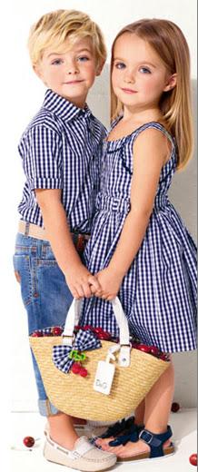DOLCE & GABBANA INVIERNO INFANTIL D&G VERANO INFANTIL