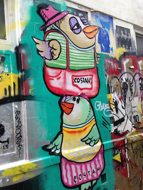 Costah street art