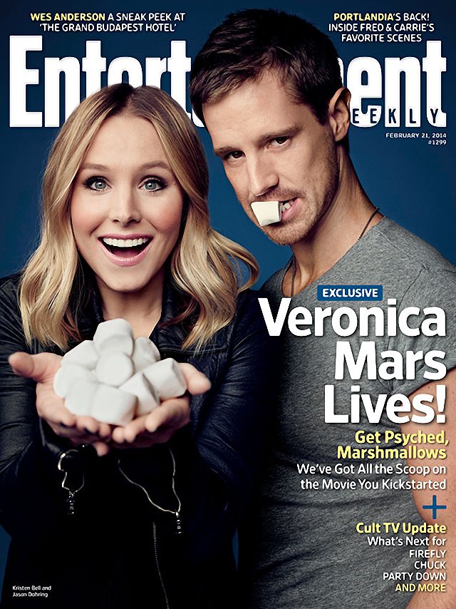 Kristen Bell en Entertainment Weekly Magazine