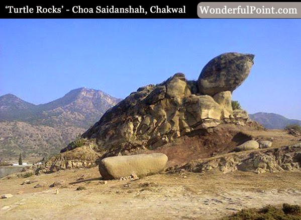 8 natural formations in pakistan that resemble real shapes