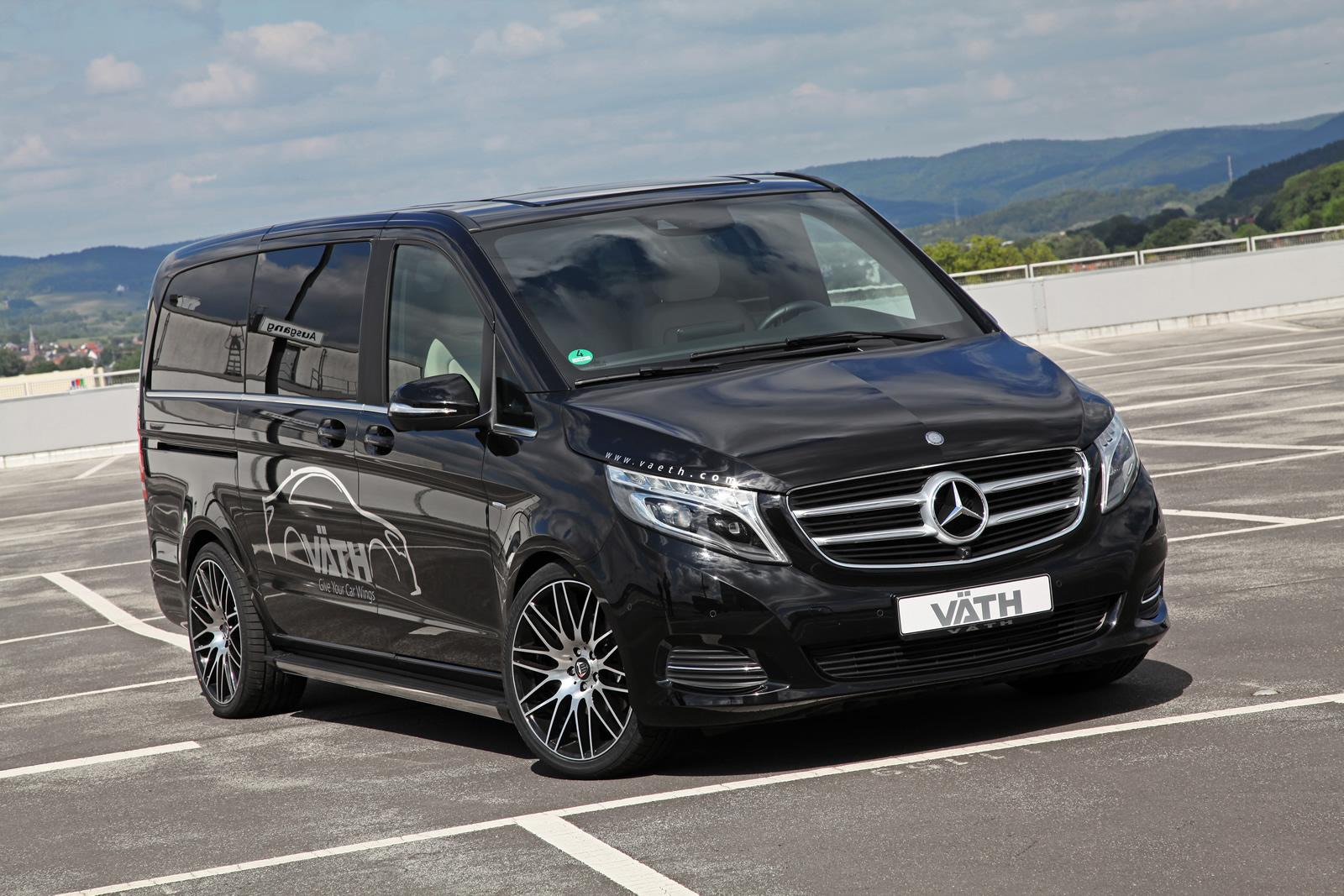 mercedes benz metris w447 v250cdi by v th benztuning