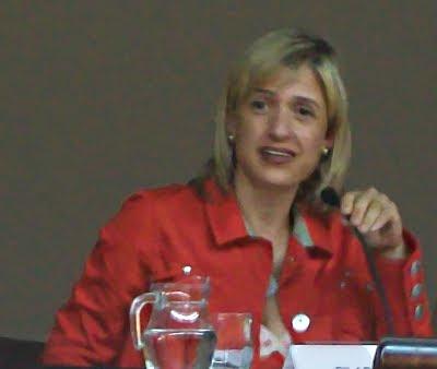sra. Pilar Díaz (alcaldessa d'Esplugues)