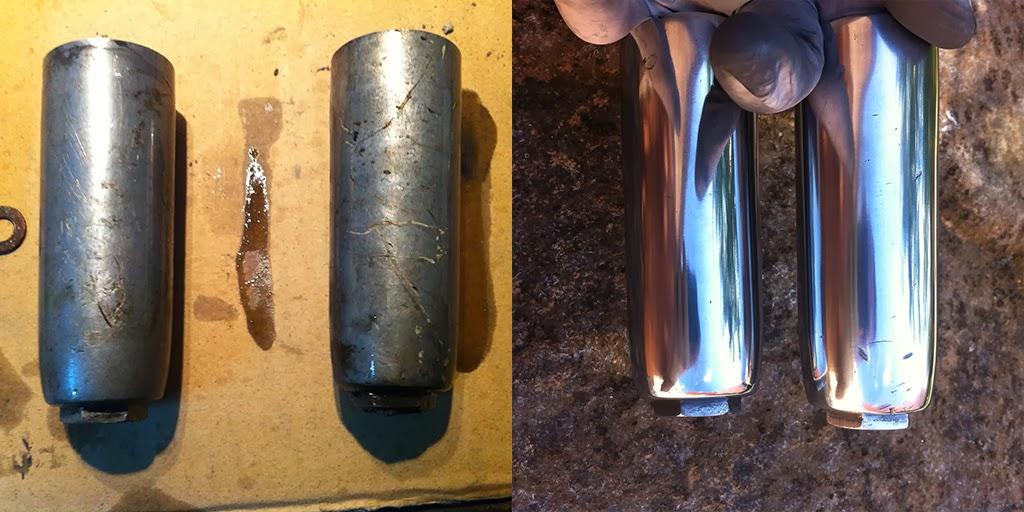 Como pulir acero inoxidable rayado