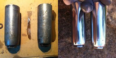 Restauraci n de una impala turismo el proceso casero - Pulir llantas de aluminio a espejo ...