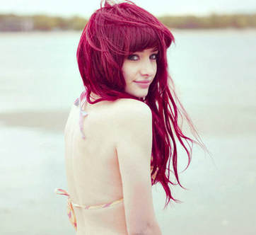 fashion dark red hair color ideas for 2011