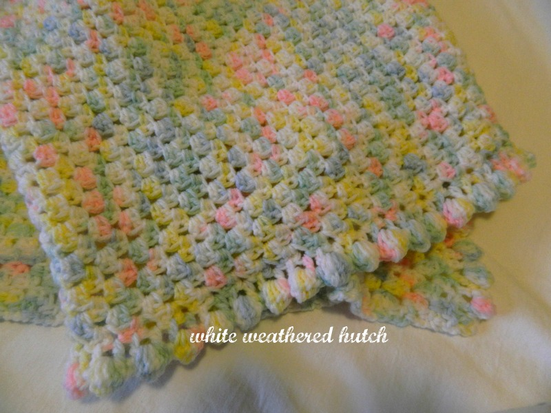 Crocheting A Baby Quilt : used Bernat Baby Sport. .....Baby Baby Ombre.....Picked up ...