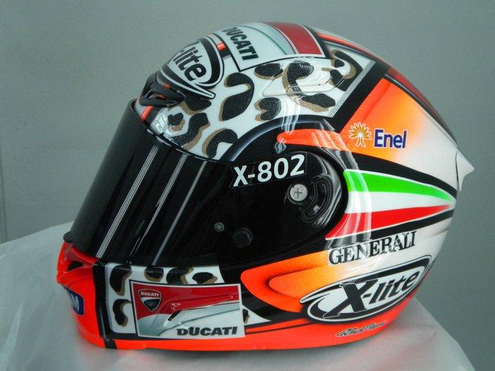 racing helmets garage x lite x 802 g guareschi 2011 by. Black Bedroom Furniture Sets. Home Design Ideas
