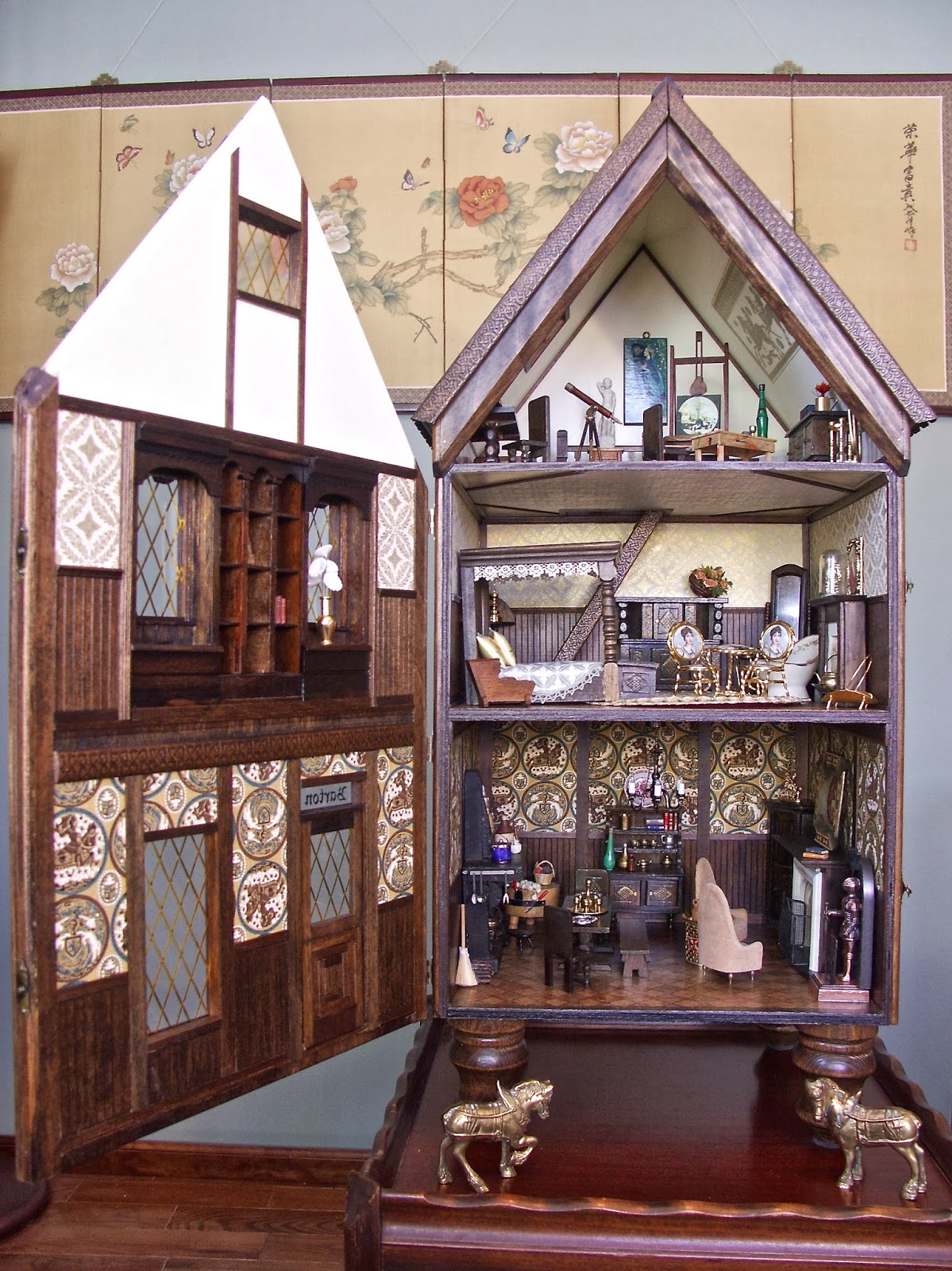Happy Little Worlds Retrofit The Kit Tudor Dollhouse