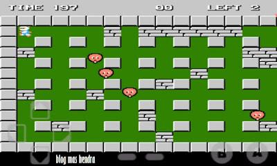 Tampilan Permainan Bomber Man - Blog Mas Hendra