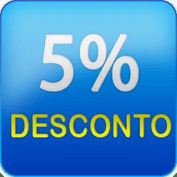 Resultado de imagem para desconto de 5 %