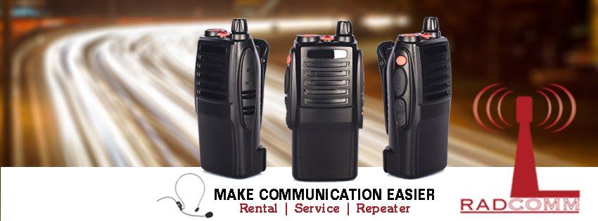 Sewa walkie talkie