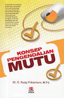toko buku rahma: buku KONSEP PENGENDALIAN MUTU, pengarang rudy prigantoro, penerbit rosda
