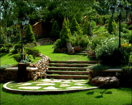 Fondos Para Photoshop De Jardines