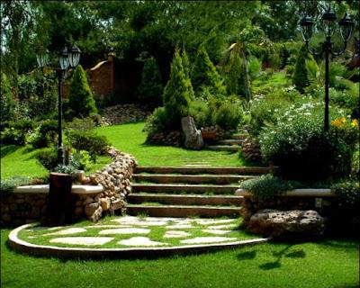 Marcos gratis para fotos escaleras y jardines jpg for Imagenes de jardines