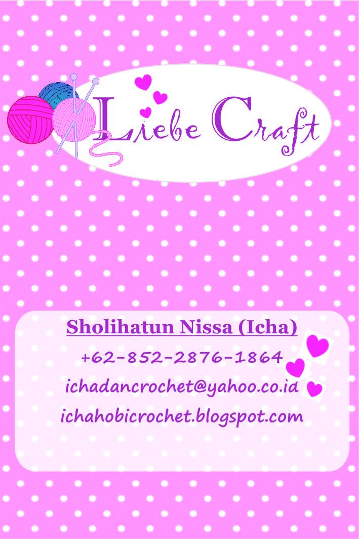 Knitted Artinya : Icha dan crochet liebe craft
