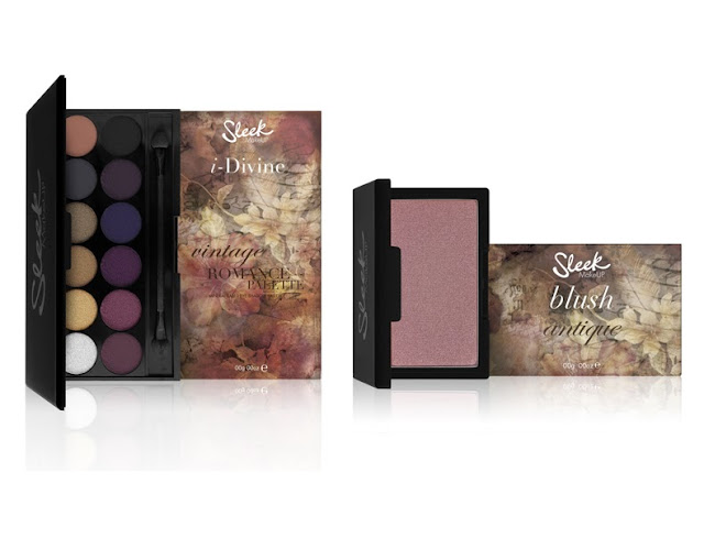 Sleek MakeUp: Vintage Romance Collection
