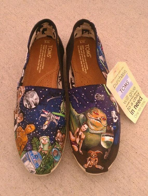 zapatillas guerra de las galaxias