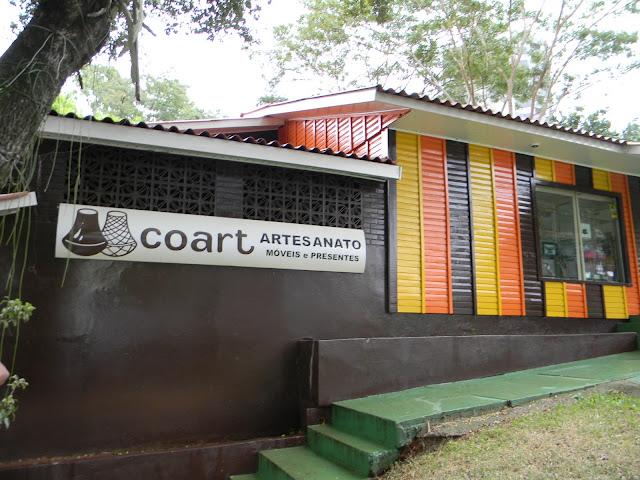 City Tour Loumar Turismo em Foz do Iguaçu - passeio na Coart cooperativa de artesanato