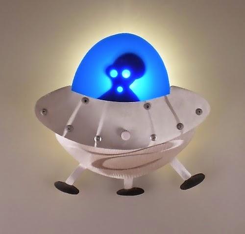 lampu tidur indah, keren dan kreatif