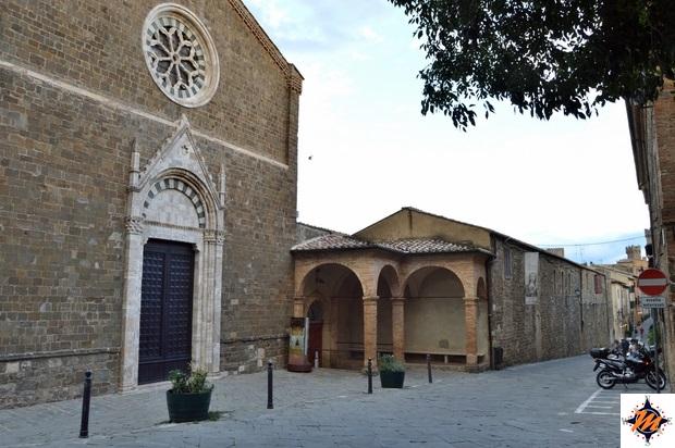 Montalcino, chiesa di Sant'Agostino