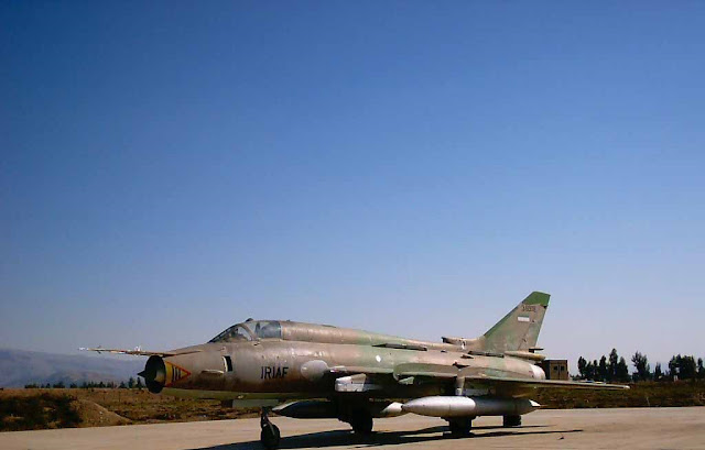 IRIAF Su-22 Fitter