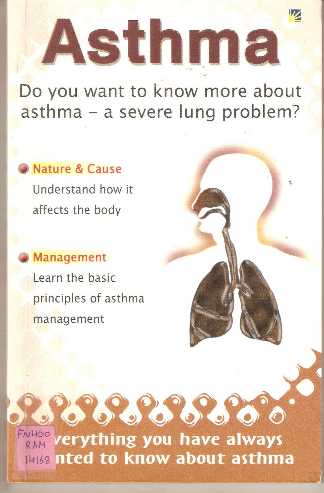 asthma information Asthma is a common condition caused by narrowing of the small air passages in the lungs for more information kids health info fact sheet: asthma.