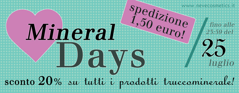 Mineral Days Neve Cosmetics