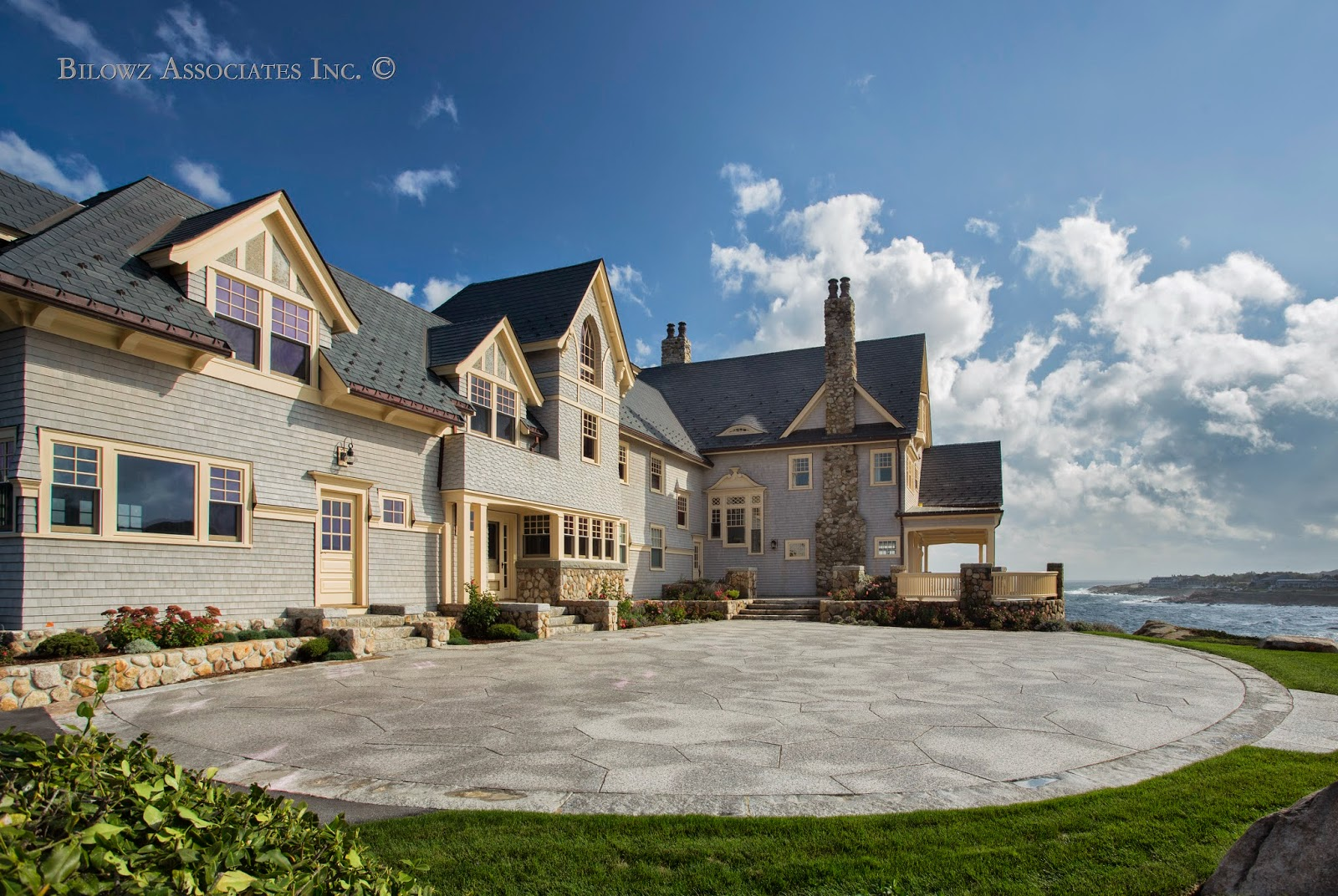 Coastal property - landscape architecture/design