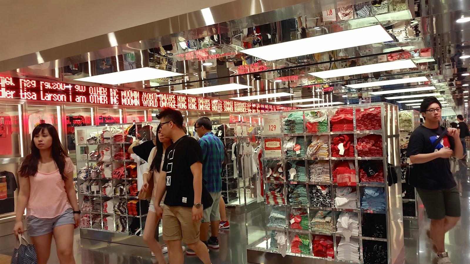 Uniqlo Causeway Bay Hong Kong Store