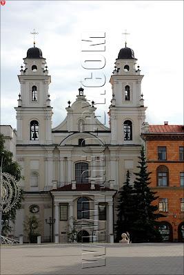Минск. Римско-Католический Архикафедральный Костел Имени Пресвятой Девы Марии