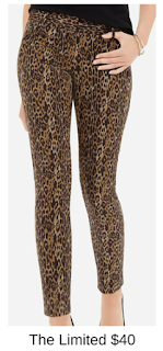 Sydney Fashion Hunter - She Wears The Pants - The Limited Leopard Print Women's Work Pants