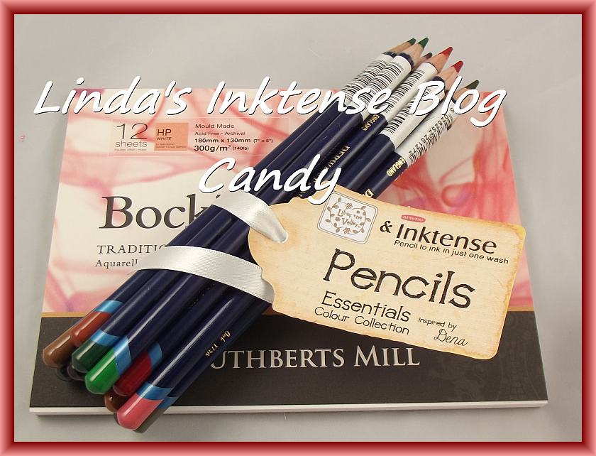 Inktense Pencils blog candy