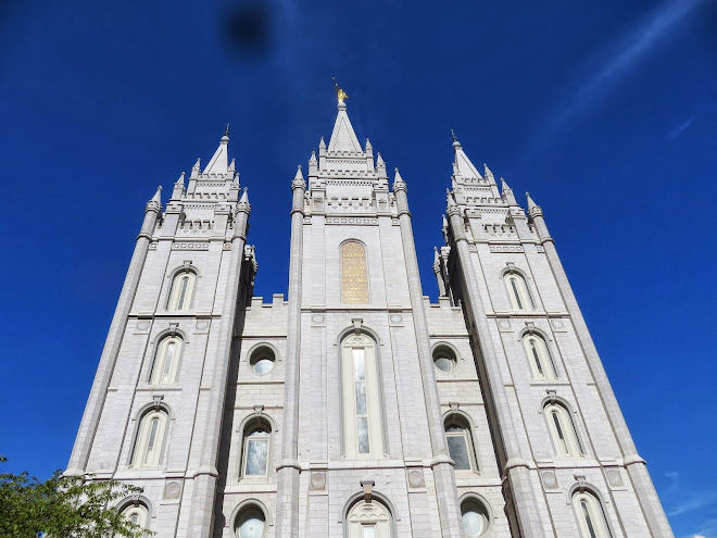 The Temple. Salt Lake City, Utah.