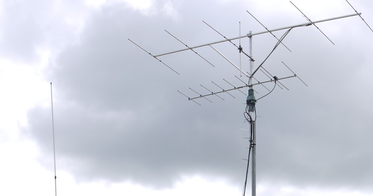 GM4FVM\'s radio world: My HF antenna, the Sirio Gainmaster.
