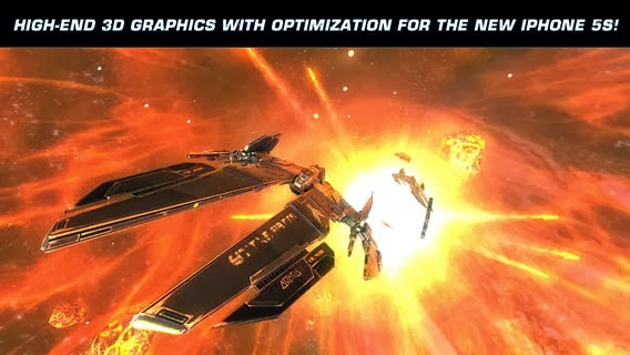 free galaxy on fire 2 HD iphone ipad ios itunes