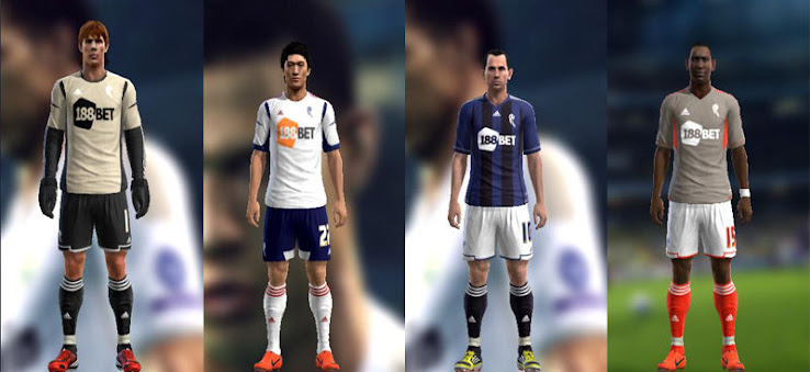 PES 2012 Bolton 12 13 Kit Set by Hansdell