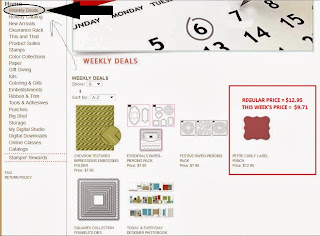 Stampin'UP!'s Deal of the Week, new every Tuesday