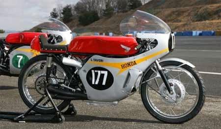 gambar motor Honda jadul