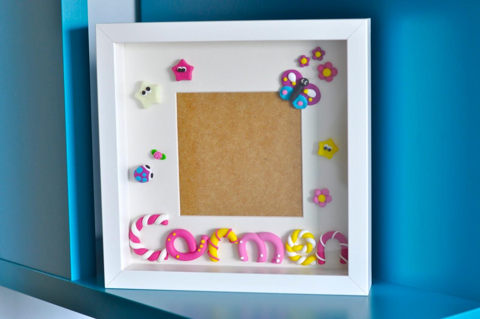 Lda Lera Cuadro decorado Carmen y mini tutorial para modelado de