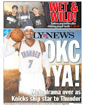 Knicks get back page for trading Carmelo