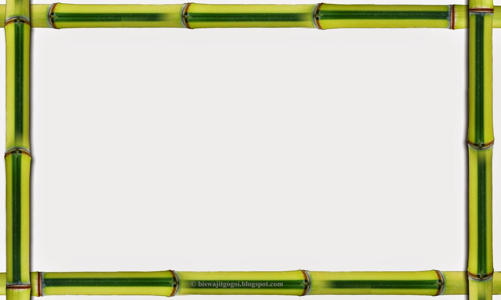 Graphics and folk assam bambo frames