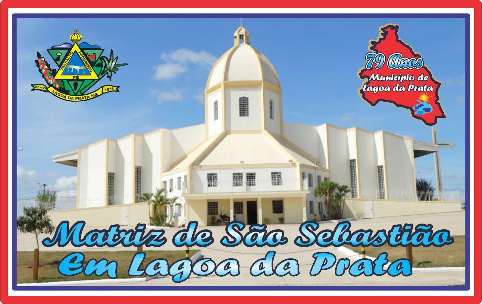 Matriz de São Sebastião em Lagoa da Prata